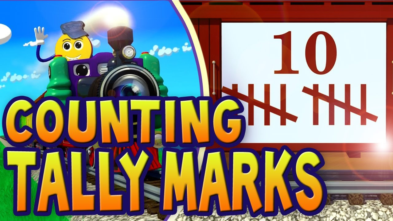 Counting Tally Marks 1 10 Pictrain Youtube