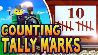 Counting Tally Marks 1-10 PicTrain