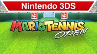 Nintendo 3DS - Mario Tennis Open Teaser Trailer