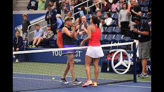 Donna Vekić vs Julia Goerges | US Open 2019 R4 Highlights