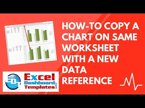 How-To Copy an Excel Chart on Same Worksheet with a New Data Reference