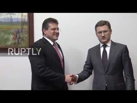 Russia: Novak and EU commissioner discuss Russian-EU energy cooperation
