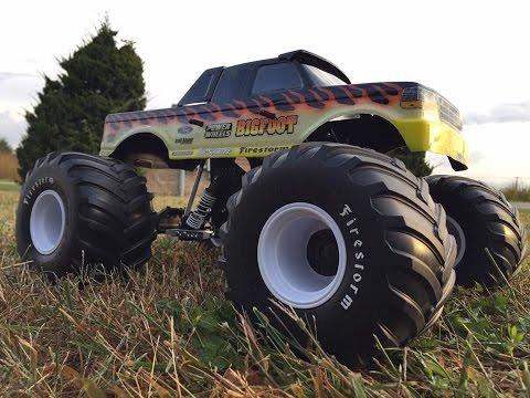 Trigger King Tech: Monster Truck Tire...