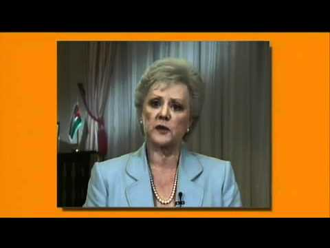 Her Royal Highness Princess Muna al-Hussein (via videotape) Jordan