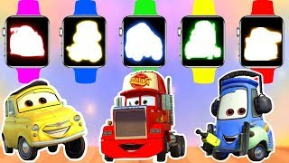 Wrong Colors Monster Truck for Kids | Mack - Guido - Luigi | Street Vehicles for Children