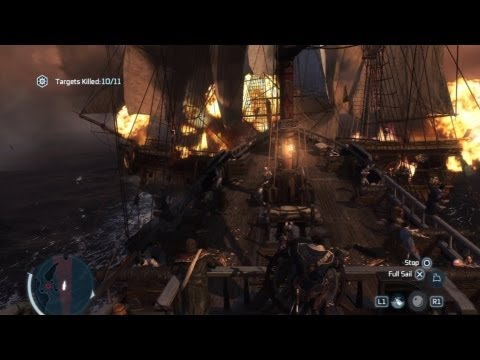 Raiding the Prospector (Full Sync) - Assassins Creed III Privateer Contract