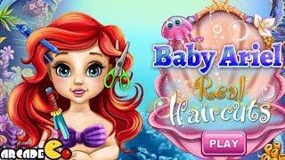 Disney Princess Ariel - Ariel Real Haircuts Disney - Princess Games