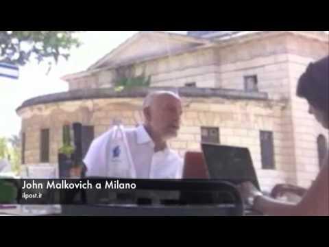 Il Post - John Malkovich a Milano