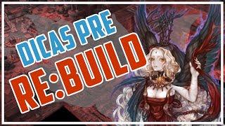 Dicas Tree of Savior - Como se preparar para o Re:Build