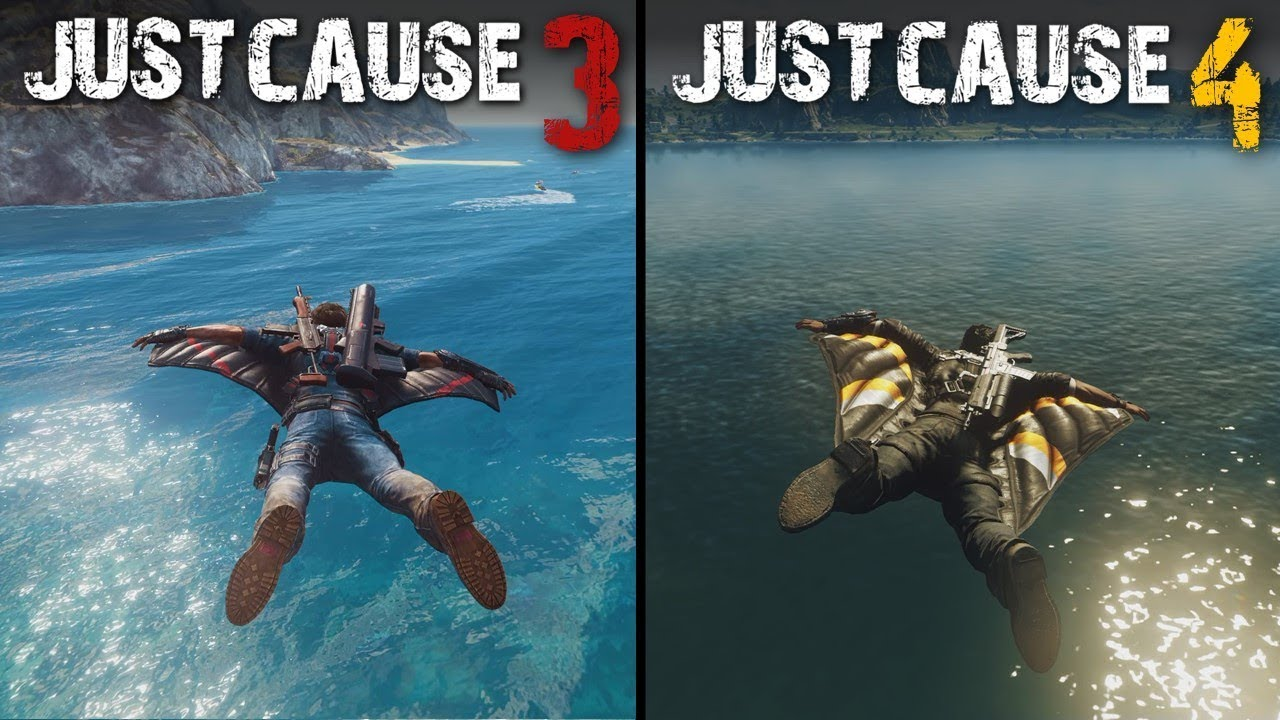 NICK930 - Just Cause 4 vs Just Cause 3 | Direct Comparison