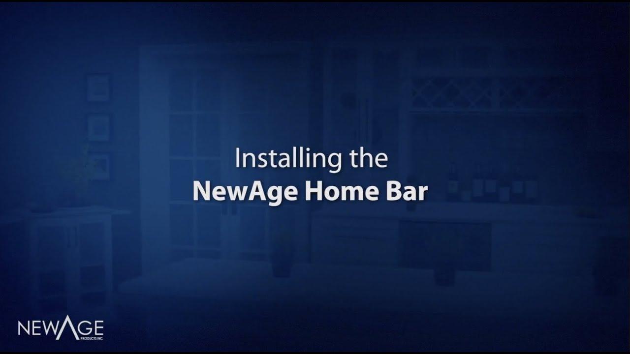 Home Bar Installation Youtube