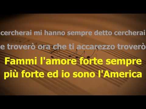 L'america - Gianna Nannini - Karaoke