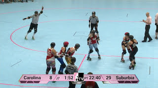 Roller Derby: WFTDA Division 1 Playoffs - Suburbia Roller Derby vs. Carolina Rollergirls