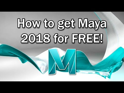 How To Get Maya 2018 for Free