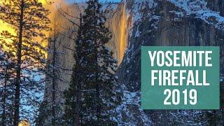 Yosemite Firefall 2019 - Horsetail Fall