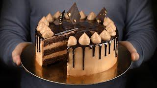 Торт Праздничный с фундуком Шикарный шоколадный торт на любой праздник