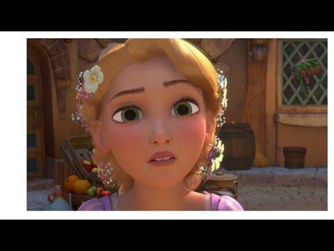 """Макияж диснеевской принцессы """"Рапунцель""""????"""