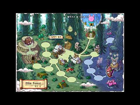 [MapleStory BGM] Ellin Forest: Ellin Cave (KMS 1.2.144)