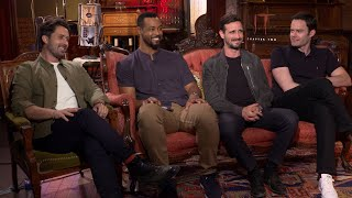 It Chapter Two: Stars Andy Bean, Isaiah Mustafa, James Ransone, Bill Hader