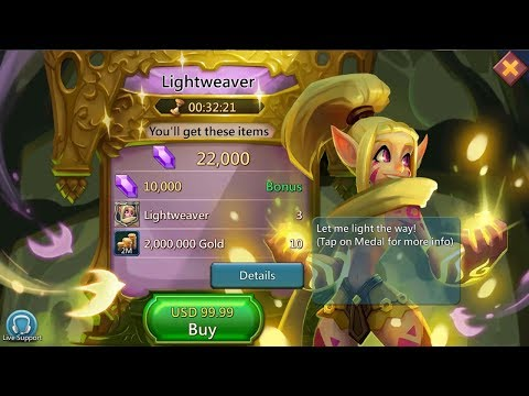 Lords Mobile : Buying Lightweaver In SGE Sugar Empire - Thanks Sugarkane