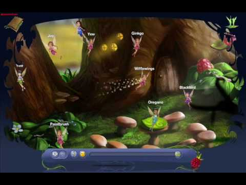 Pixie Hollow Create A Fairy And Fly Youtube
