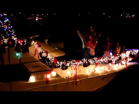 Huntington Harbor Boat Parade Of Lights 2010