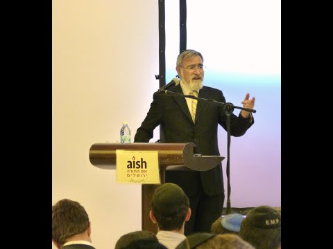 Rabbi Lord Jonathan Sacks at Aish HaTorah