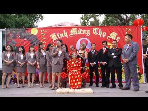 Lễ Mừng Thọ Cụ Bà Lê Thị Hứa Trường Thọ 80 tuổi BRVT