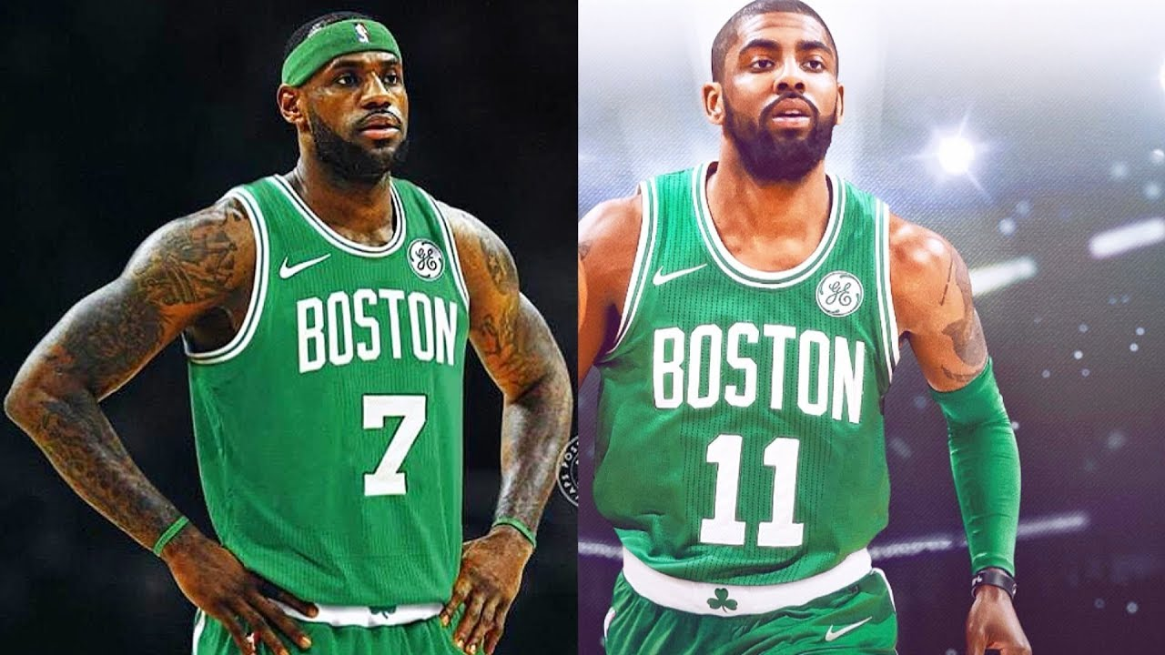 best sneakers 60afd 9dcc2 LeBron James Joins Celtics with Kyrie Irving