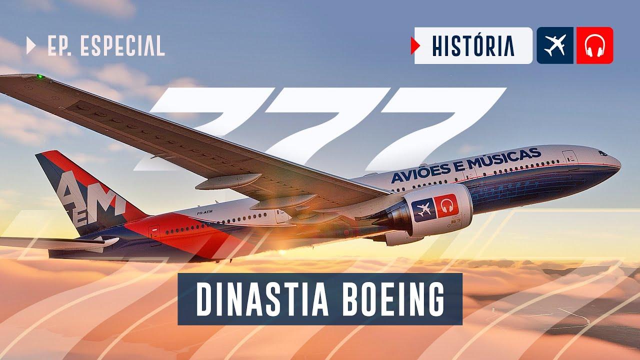 Boeing 777 - o avião FAVORITO do Lito EP. 777