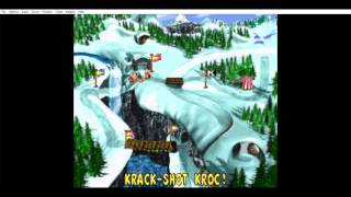 donkey kong 3 all bonus levels and dk coin - krack shot kroc!