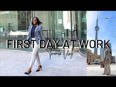 FIRST DAY AT WORK AS A RECRUITMENT CONSULTANT | Come To Work With Me, I Got A New Job In Toronto
