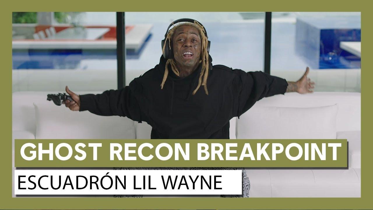 """Ghost Recon Breakpoint: Tráiler de acción real """"Escuadrón Lil Wayne"""""""