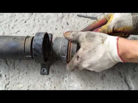 Ремонт карданного вала, замена подвесного подшипника на Ленд Ровер Дискавери 3  Land Rover Discovery