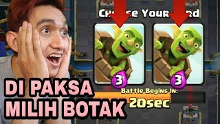 Video DI PAKSA PILIH KARTU LEGENDARY BOTAK  - Clash Royale Indonesia download MP3, 3GP, MP4, WEBM, AVI, FLV September 2018