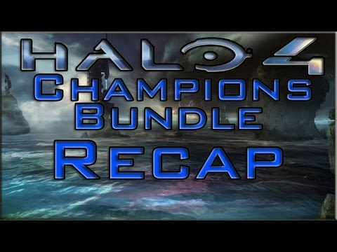 Halo 4 - Champions Bundle Recap | Bullseye, Infinity Armor ...
