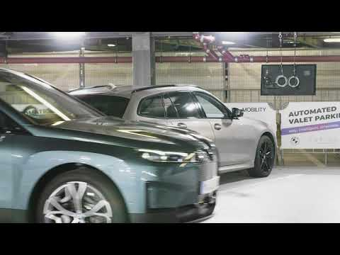Download The new BMW iX - Automated Valet Parking @IAA MOBILITIY