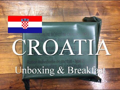 Croatia: Individual Combat Ration (IBO) ~Unboxing & Breakfast~