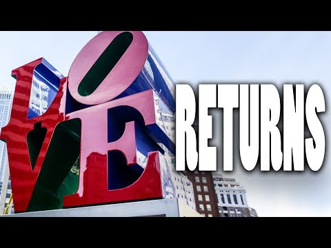 LOVE story: Famous Philadelphia statue returns after nearly a year's absence
