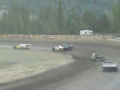 Eagle Track Raceway Modified Main Event Part 3 Sept 20th 2014