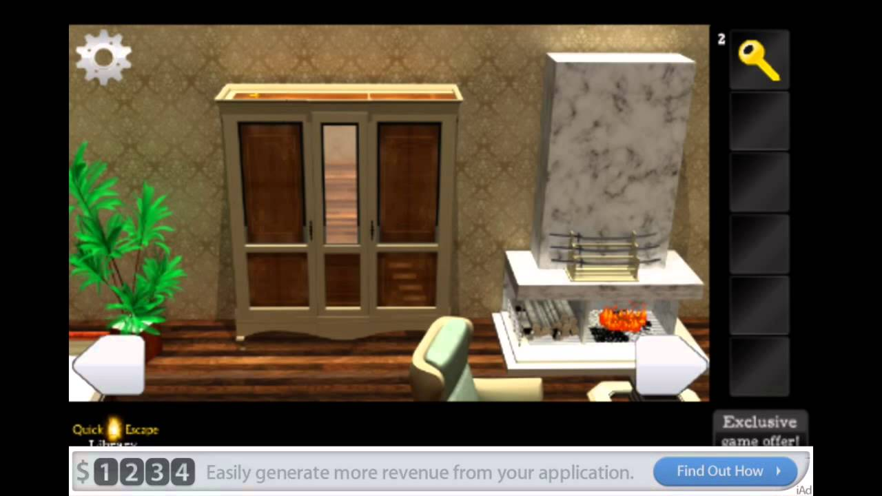 Quick Sailor Escape Bathroom Walkthrough quick escape library walkthrough - youtube