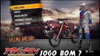 MX vs ATV Supercross Encore - Gameplay 1080p - JOGO BOM ? PT-BR