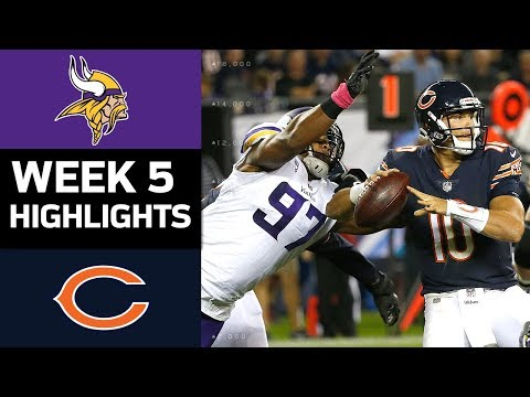 Vikings vs. Bears | NFL Week 5 Game Highlights