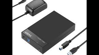 Eaxer USB 3 0 Hard Drive Disk External Enclosure Case