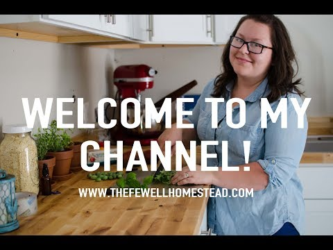 Welcome to the Amy Fewell | The Fewell Homestead Channel!