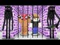 ENDERMAN HAPİSHANESİNDEN KAÇIYORUM! 😱 - Minecraft