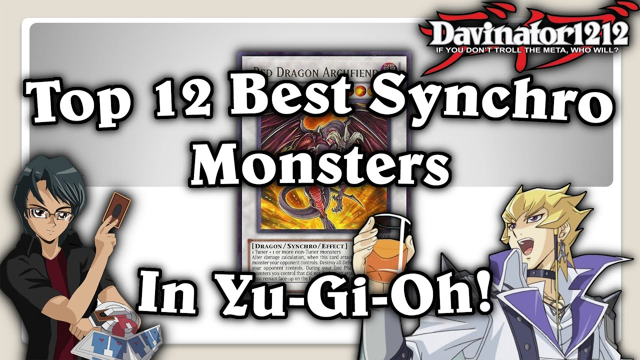 top 12 best synchro monsters in yu gi oh youtube. Black Bedroom Furniture Sets. Home Design Ideas