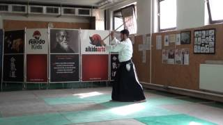 zengo no ido hasso gaeshi ushiro uchi [TUTORIAL] Aikido advanced weapon technique