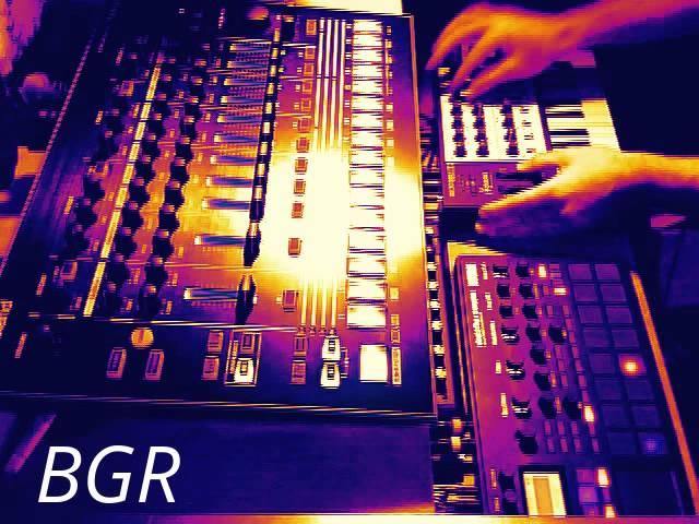 BGR - Deep House / Dub Techno Style Session - Korg Electribe Sampler - Roland TR-8 - Microbrute