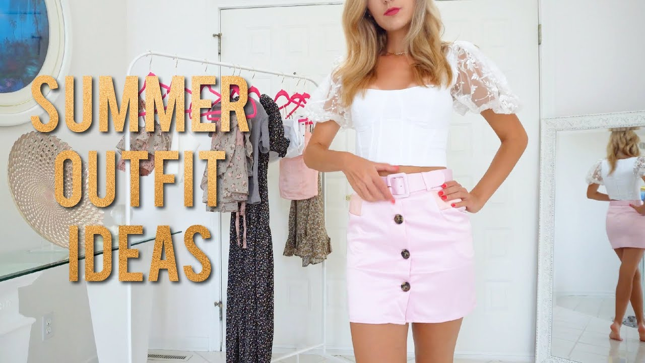 End of Summer LOOKBOOK | Outfit Ideas from Eggie